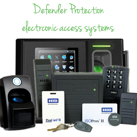 Defender Protection Commercial Electronic Door Access Controls